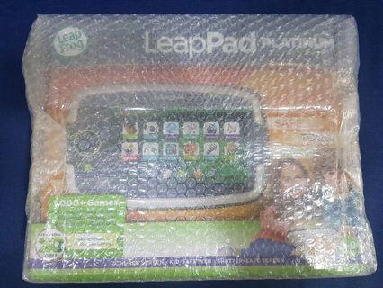 LeapFrog LeapPad Platinum Tablet Free 8 Learning Game Cartridges