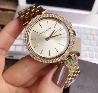 Auth MK Gold Watches