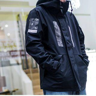 REMIX 16 A/W RMX ECWCS Park 黑 風衣 二手美品 L 號