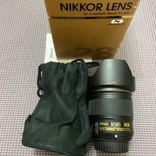 Nikon 28MM F1.8 G (公)