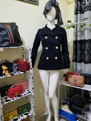 Coat black new