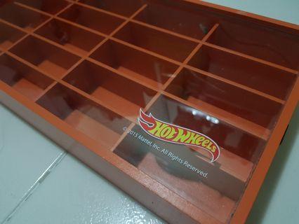 Hotwheels collection box / display