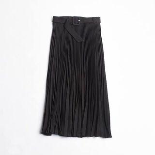 OshareGirl 10 歐美女士百摺裙腰帶釦環