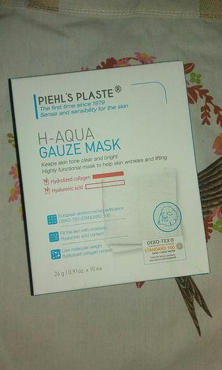Piehls Plaste Aqua Gauze Mask