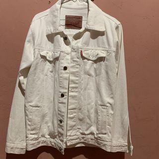 Jaket Putih / white jacket denim