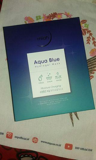 MIAH SHINE AQUA BLUE HYDROGEL MASK
