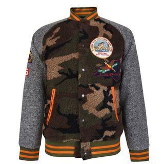 Polo Ralph Lauren wildlife fleece 毛呢 棒球外套 布章 拼貼 Patagonia