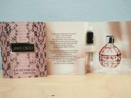 Authentic sample perfume