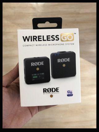 RODE WIRELESS GO 無線麥克風