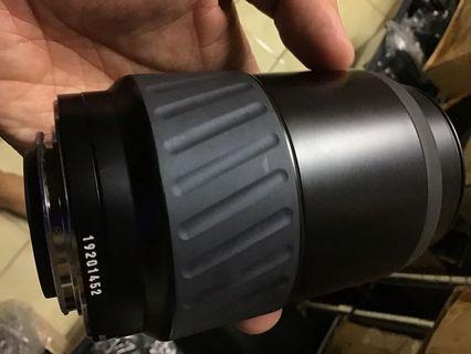 Minolta 100 300mm af for Sony a 鏡頭 前鏡ㄧ點霉 不影響