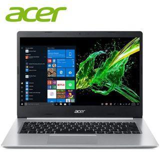 """Acer Aspire 5 A514-52G-586W 14"""" FHD IPS Laptop Pure Silver ( i5-8265U, 4GB, 256GB, MX250 2GB, W10 )"""