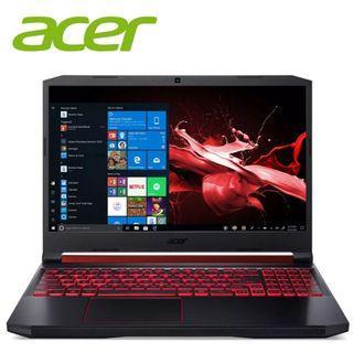 "Acer Nitro 5 AN515-54-526L 15.6"" FHD IPS Laptop Black (i5-9300H, 4GB, 256GB SSD, GTX 1050 3GB, W10)"