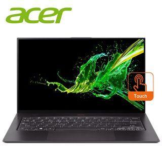 "Acer Swift 7 SF714-52T-54XE 14"" FHD IPS Touch Laptop Black ( i5-8200Y, 8GB, 256GB, Intel, W10H )"