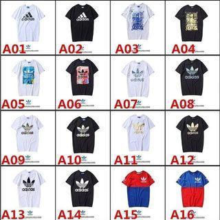 全新現貨Adidas三葉草短袖T恤印花圖案logo短t