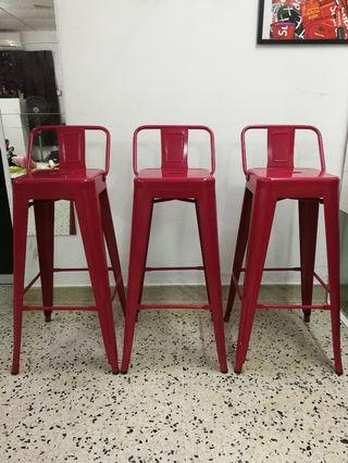 Steel bar chair in very good condition