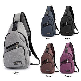 SKM Sports And Leisure USB Charging Messenger Bag SK 512 A