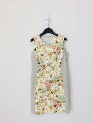 春日修身洋裝