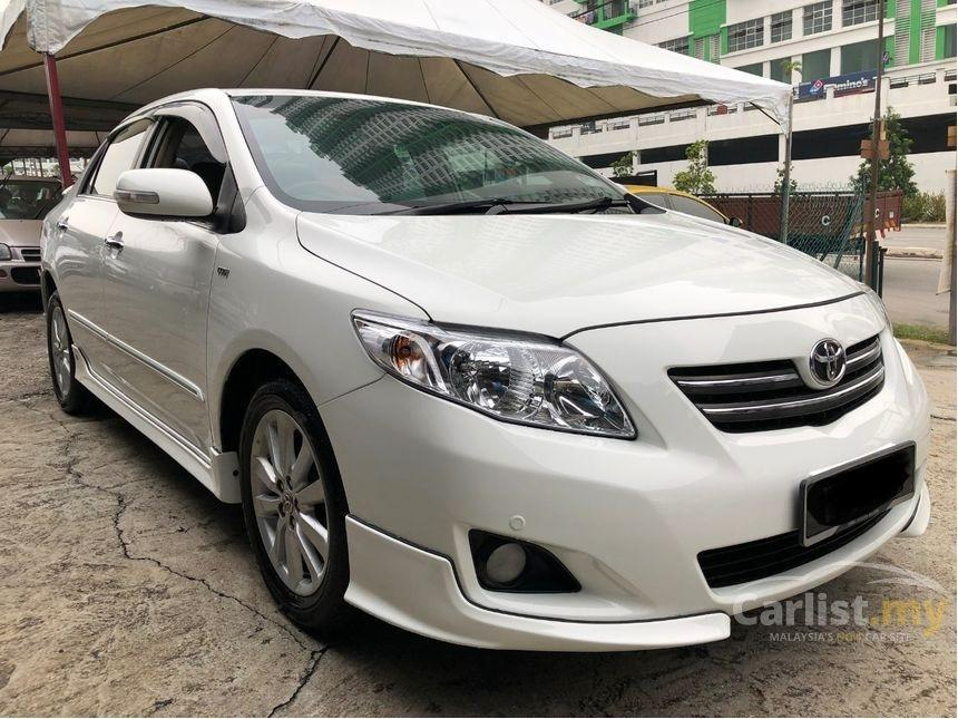 2010 Toyota Corolla Altis 1.8 G (A) One Owner Crystal White Bodykit    http://wasap.my/601110315793/AltisG2010