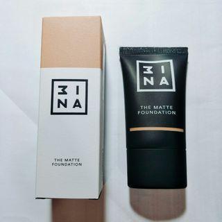 3ina 柔肌輕霧粉底液 色號401 自然色 MAC 專櫃彩妝品 NARS 植村秀