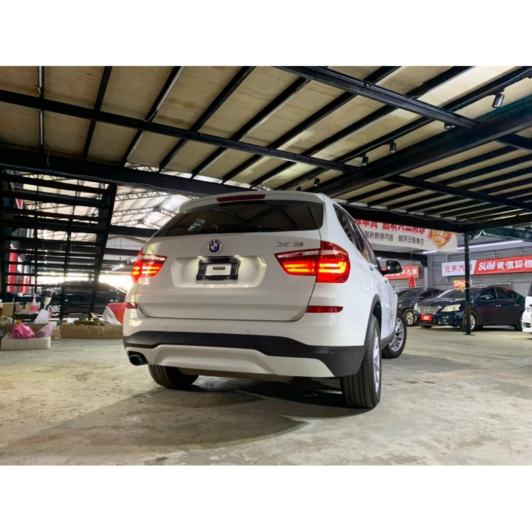2015 BMW X3 XDrive 2.0i 非自售 代步車
