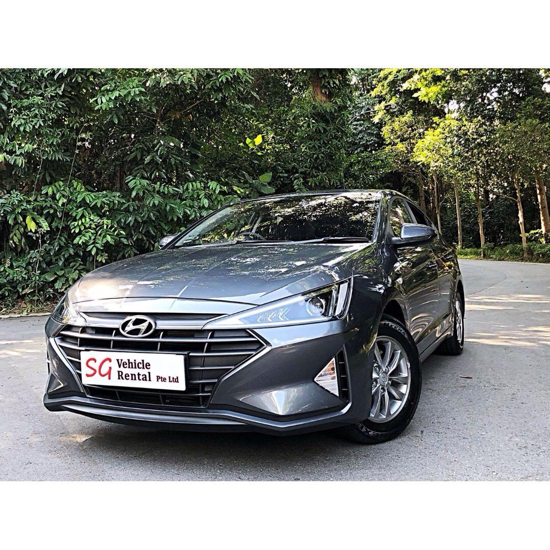 2020 LATEST HYUNDAI AVANTE GO-JEK RENTAL REBATE / GRAB CHEAP CAR RENTAL
