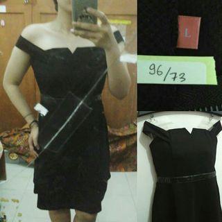 Black Dress Pesta (mango, zara, h&m)