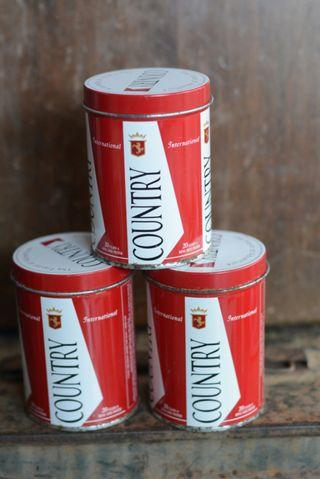 Tin rokok country