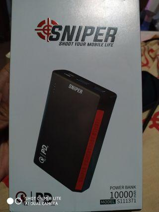 Powerbank Sniper 10000 mAh S111371 New