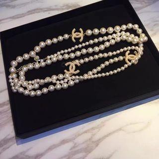 Chanel 100 anniversary long necklace
