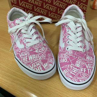 Vans 21.5滑板鞋 粉色 版型偏大 正常22可穿