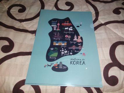 [NEW] Korean Map A4
