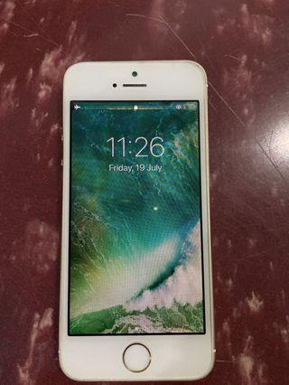 I phone 5s, 32 GB, Gold {SPARE PART}