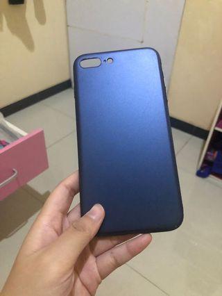 Case iphone 7 plus 8 plus - metallic blue