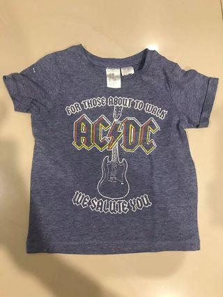 H&M ACDC T-Shirt