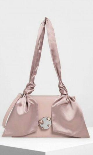 C&K ribbon shoulder bag