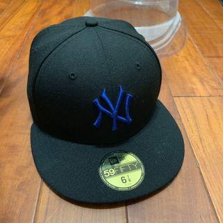 紐約洋基棒球帽-特別款(頭圍:6又7/8,附保護殼)