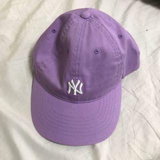 MLB淡紫色老帽