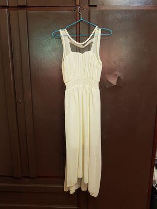 雪紡白紗裙