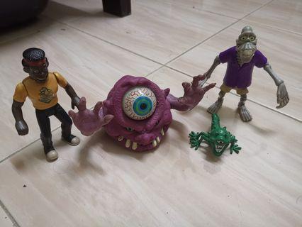 Ghostbuster toys campor