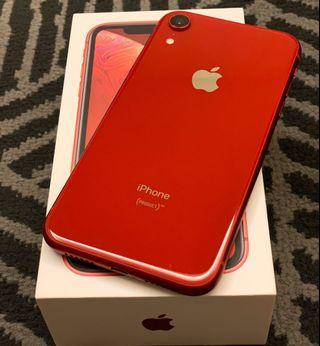 iPhone XR 128G 紅色 無傷 (保固2020/6/28)
