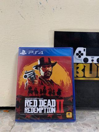PS4 Games Red Dead Redemption 2 R3 New