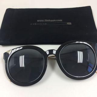 韓國 金框 黑框 太陽眼鏡 sunglasses