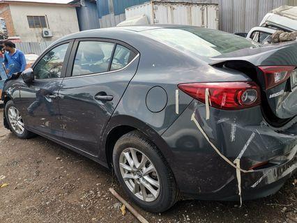 Mazda 3 2017 scrap
