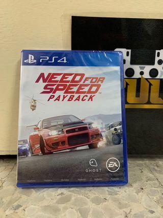 Need For Speed Payback Ps4 (R3) New