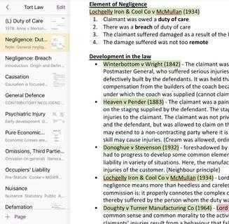 UOL Tort Law Notes