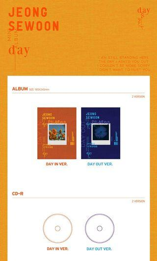 [SET] JEONG SEWOON-Mini DAY