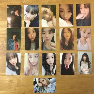 Taeyeon official Photocard (1 for RM20)