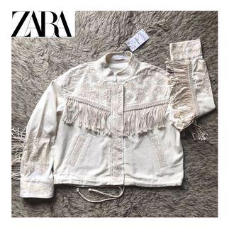 ZARA Bohemian Fringing Jacket