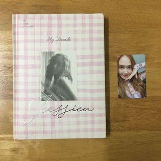 Jessica 3rd mini album《My Decade》(include photocard)