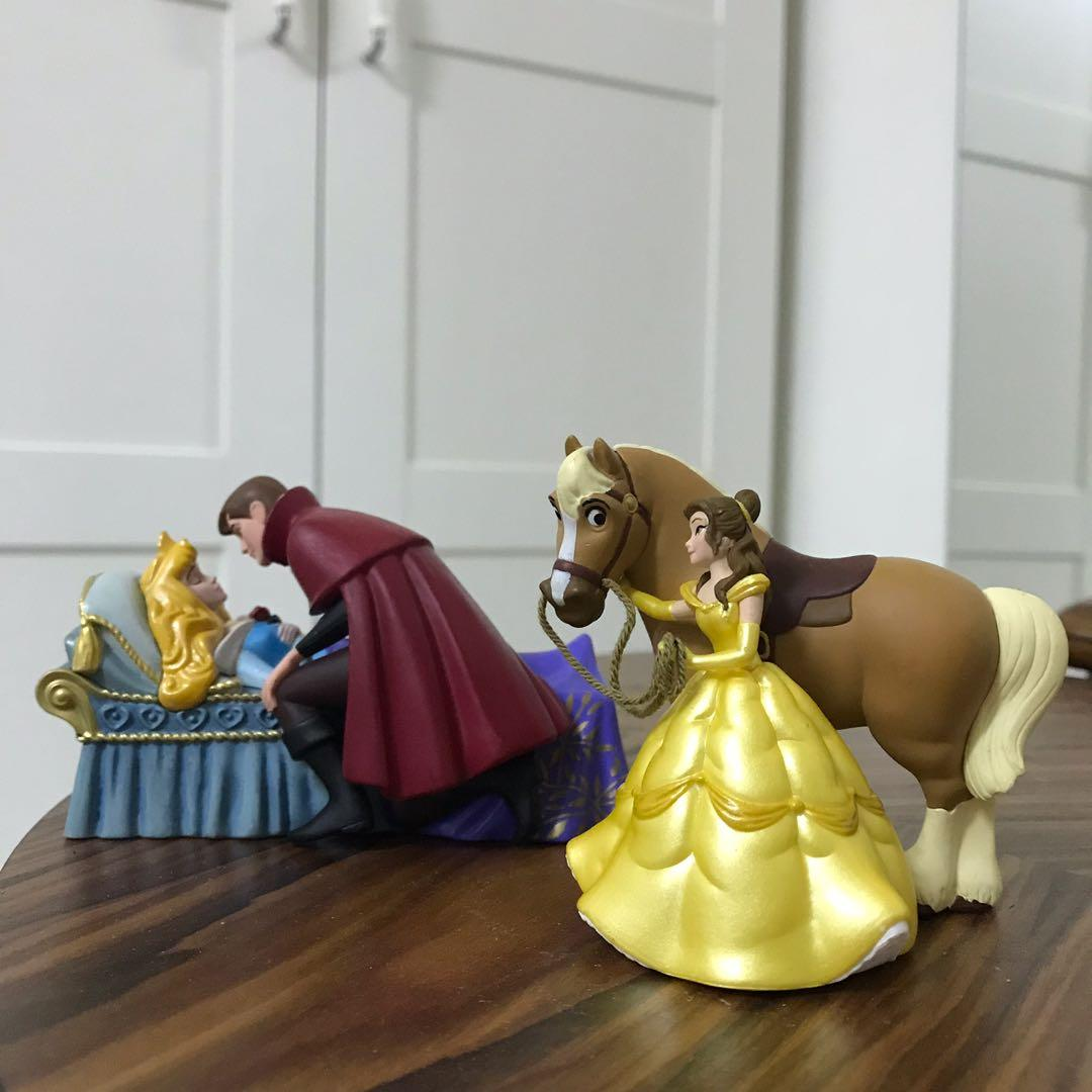 迪士尼公主公仔組合